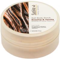 Vanilla & Rosehip Salt Body Scrub